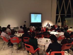 5日夜には東北大学の後藤先生によるパネルトークが開催されました。